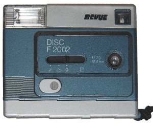 enlarge picture  - camera Revue disc F2002
