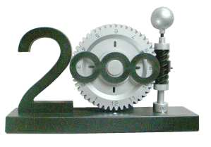 enlarge picture  - clock Millenium design