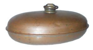 Vorkriegsw�rmflasche aus Kupfer