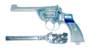 enlarge picture  - gun Enfield revolver