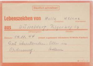 enlarge picture  - letter Red-Cross German