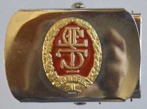 enlarge picture  - belt buckle sports German
