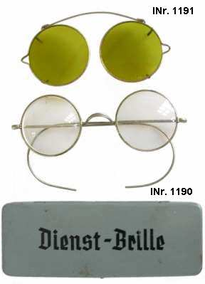 enlarge picture  - glasses sun army German