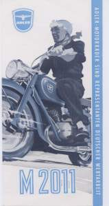 enlarge picture  - brochure motorbike Adler