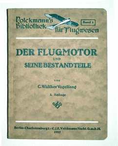 Buch: Der Flugmotor und seine Bestandteile - 1917