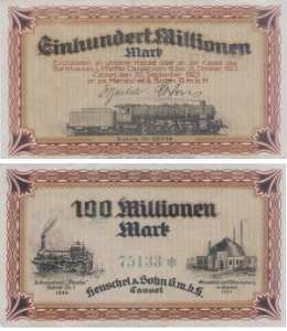 enlarge picture  - money banknote Cassel