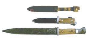 Konversion Fahrtenmesser gefertigt aus Bajonett 98k
