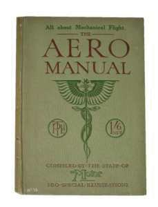 enlarge picture  - book aero manual 1919
