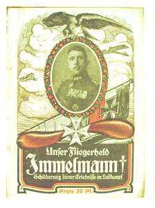 enlarge picture  - book Immelmann biography