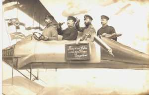 enlarge picture  - postcard aeronautical
