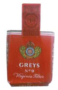 enlarge picture  - cigarette Greys box