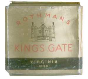 enlarge picture  - cigarette Kings gate box