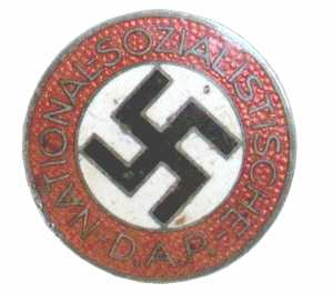 enlarge picture  - badge NSDAP party