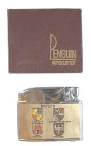 enlarge picture  - lighter Penguin      1960