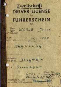enlarge picture  - driving licence Augsburg