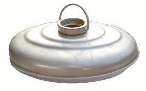 W�rmflasche aus Aluminiumblech
