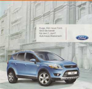 enlarge picture  - brochure car Ford Kuga