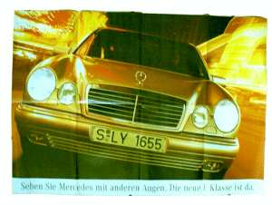 enlarge picture  - brochure car Mercedes