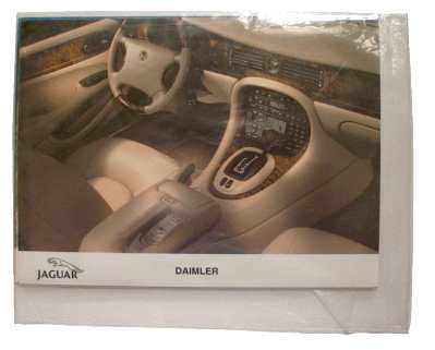 enlarge picture  - brochure car Jaguar Daiml