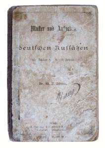 enlarge picture  - book school German   1874