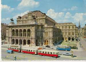 enlarge picture  - postcard A Vienna    1977