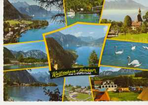 enlarge picture  - postcard A Wei�enbach 190
