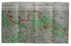 enlarge picture  - map aeronautical Prague