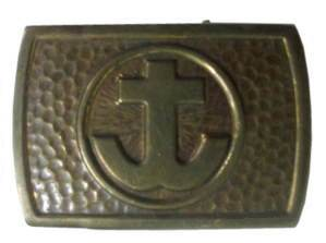 enlarge picture  - belt buckle Lutherian You