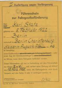 enlarge picture  - driving licence Berlin