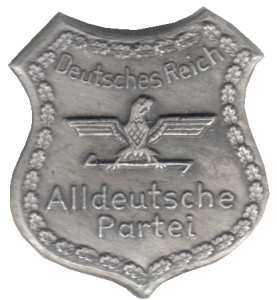 enlarge picture  - badge pan-German party