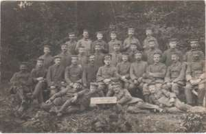 enlarge picture  - photo soldiers German WW1