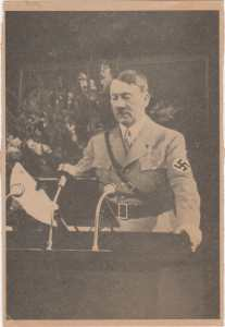 enlarge picture  - postcard Adolf Hitler