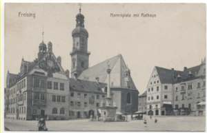 enlarge picture  - postcard 1918 Freising