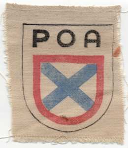 enlarge picture  - Badge Wlassow army POA