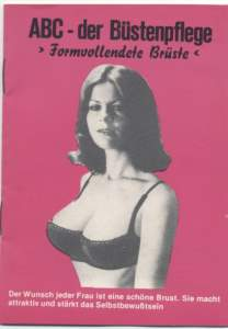 enlarge picture  - booklet bust bosom care