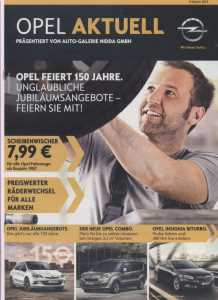 enlarge picture  - brochure car Opel 2012