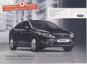 enlarge picture  - brochure Ford cars