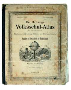enlarge picture  - book school atlas    1888