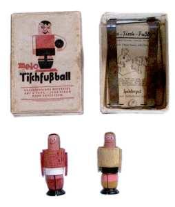 Nachkriegs Tip-Kick Spiel aus Holz