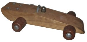 Spielzeug Rennauto, der deutschen Nachkriegszeit