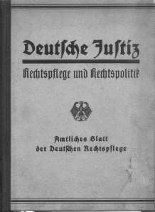enlarge picture  - book law German justice