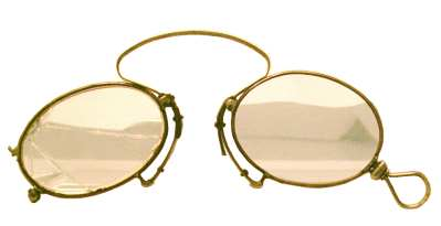 enlarge picture  - glasses historic 1860