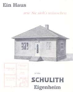Bauskizze Haus 1948