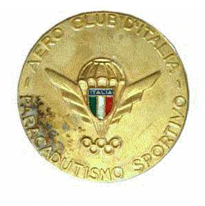 enlarge picture  - badge parachuter Italy