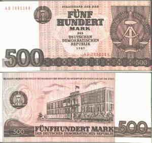 selten !!!!! Rechengeld  DDR 100 200 500 Mark Spielgeld