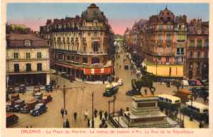 enlarge picture  - post card Orleans France