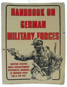 enlarge picture  - book manual Wehrmacht