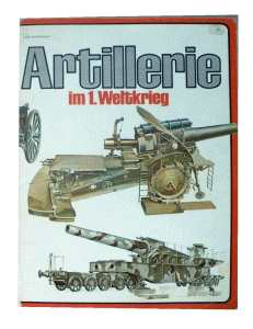 enlarge picture  - book artillery WW1