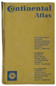 enlarge picture  - book atlas Continental
