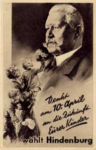 enlarge picture  - election postcard 1932